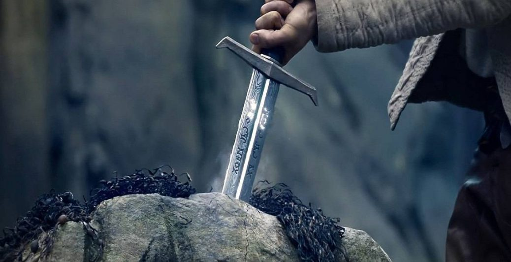 Rey Arturo: La leyenda de la espada en Uruguay.
