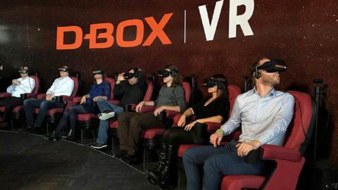 La primera sala canadiense con tecnología VR
