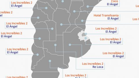 Los films más convocantes en las provincias argentinas en el 2018