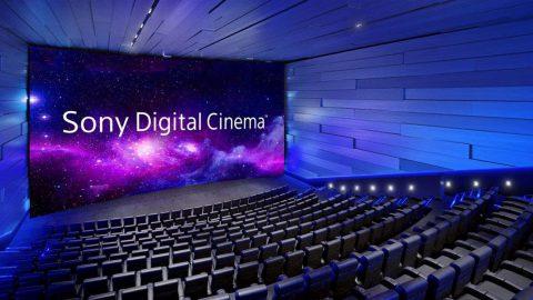 Sony anuncia el lanzamiento mundial del auditorio de gran formato Sony Digital Cinema Premium en la sede del Galaxy Theatres de Las Vegas
