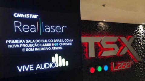 La cadena brasileña Cineplus instala un proyector 4K de láser puro de Christie en su sala premium de Curitiba